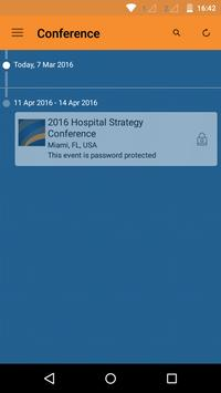 Hospital Strategy Conference poster