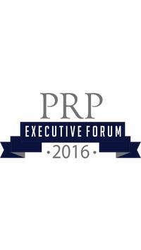 PRP Executive Forum poster