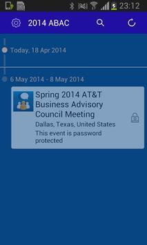2014 AT&T ABAC Meeting apk screenshot