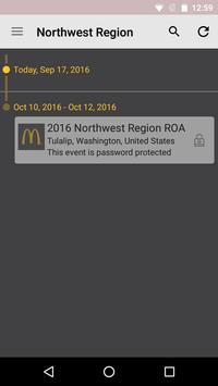 McDonald's Northwest Region poster