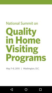 2015 Home Visiting Summit poster