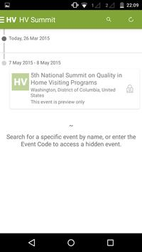 2015 Home Visiting Summit apk screenshot