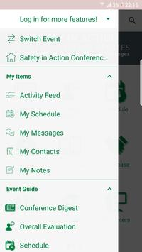 Safety in Action Conference apk screenshot