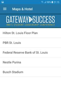 IMA Conferences screenshot 4