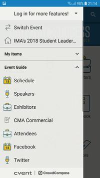 IMA Conferences screenshot 3