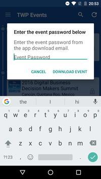 TWP Events screenshot 1