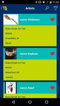 Ann Arbor Art Fair screenshot 2