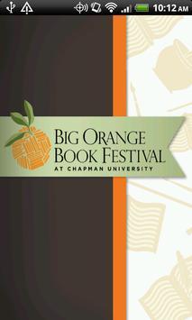 Big Orange Book Festival poster