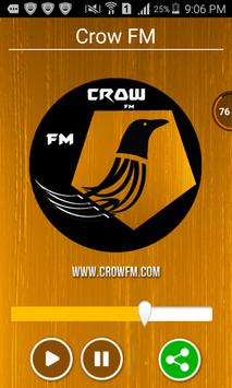 Crow FM poster