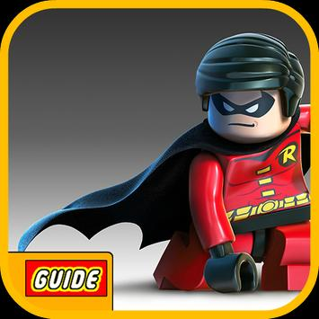 Tip LEGO DC Super Heroes Guide poster
