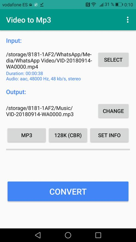 All Video To Mp3 Converter App For Android Apk Download