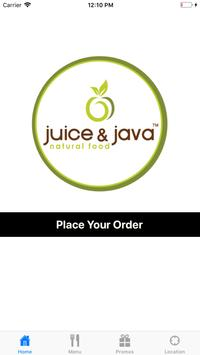 Juice & Java Natural Food screenshot 1