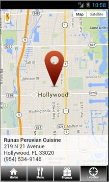 Runas Peruvian Cuisine apk screenshot
