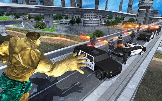 Bulk Superhero: City Battle screenshot 4