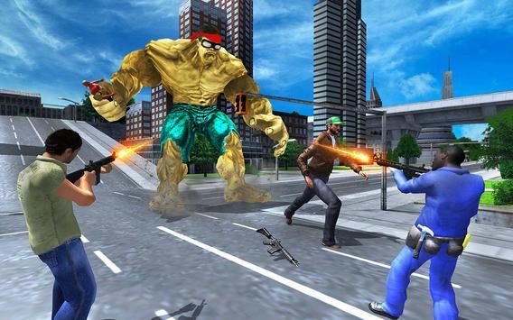 Bulk Superhero: City Battle screenshot 5