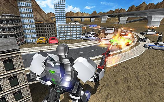 Robot Hero City Rampage apk screenshot