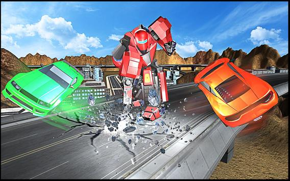 Robot Hero Rangers Battle poster
