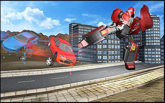 Robot Hero Rangers Battle apk screenshot