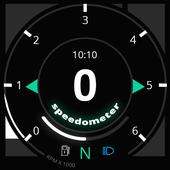 GPS Speedometer - GPS HUD icon