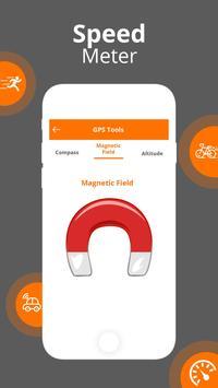 GPS Speedometer - GPS HUD screenshot 4
