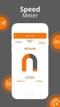 GPS Speedometer - GPS HUD screenshot 5