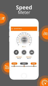 GPS Speedometer - GPS HUD screenshot 2