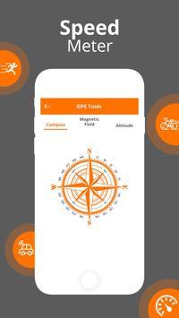 GPS Speedometer - GPS HUD screenshot 3