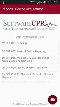 Medical Device Regulations poster