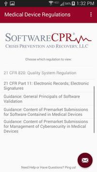Medical Device Regulations screenshot 1