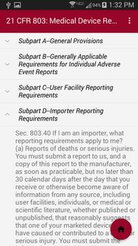 Medical Device Regulations screenshot 2