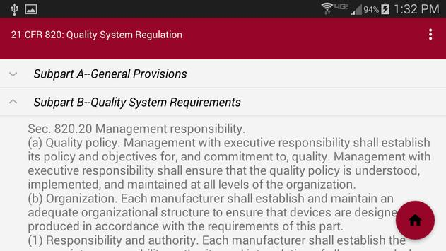 Medical Device Regulations screenshot 3
