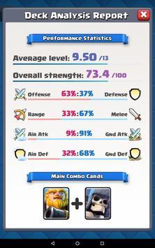 Clash Deck Analyzer apk screenshot