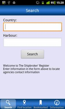 The Shipbrokers' Register poster