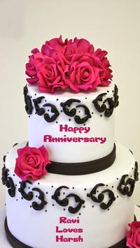 Name On Anniversary Cake screenshot 3