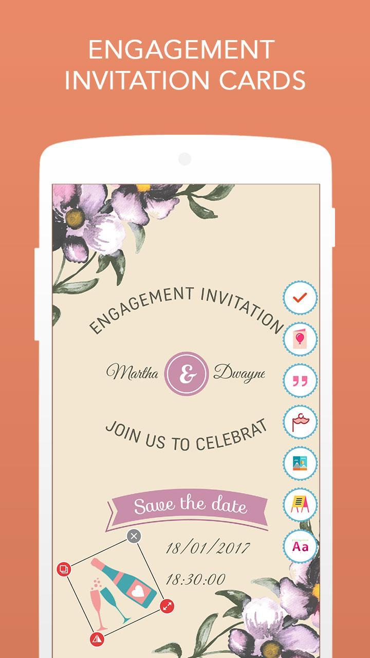 Engagement Invitation Cards For Android Apk Download
