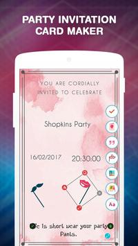 Party invitation card maker apk baixar grtis entretenimento party invitation card maker cartaz stopboris Image collections