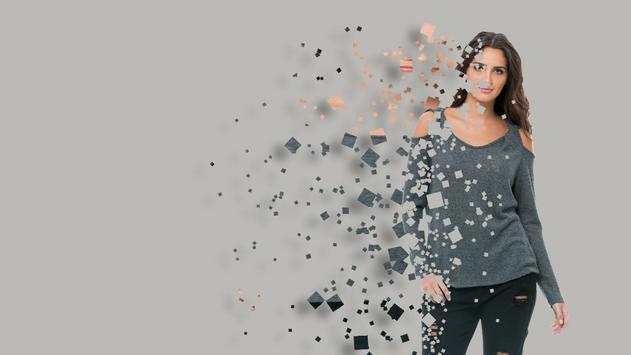 Pixel Photo Effect poster