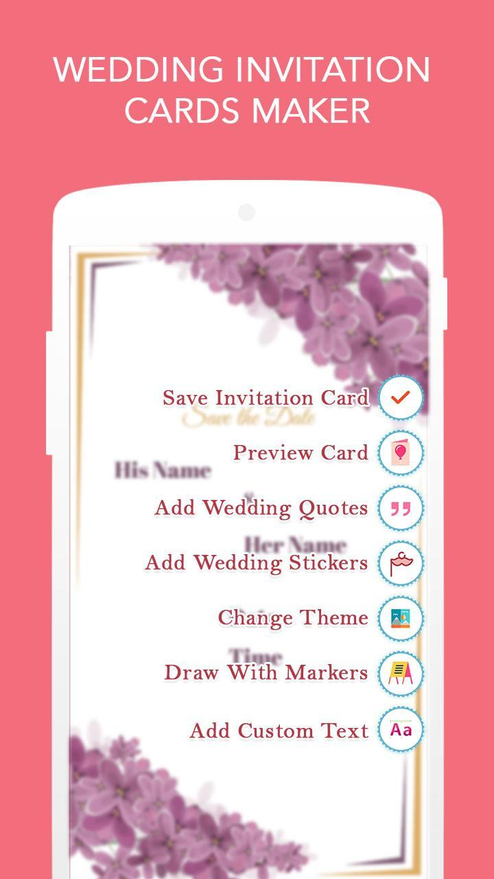 Wedding Invitation Cards Maker For Android Apk Download