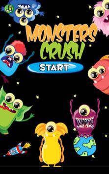 Monsters crush poster