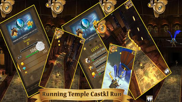 Running Temple Castle Run poster