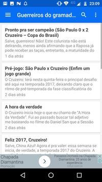 Notícias do Cruzeiro apk screenshot