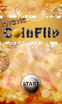Flip Christmas Coin poster