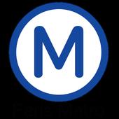 Paris Metro Map icon