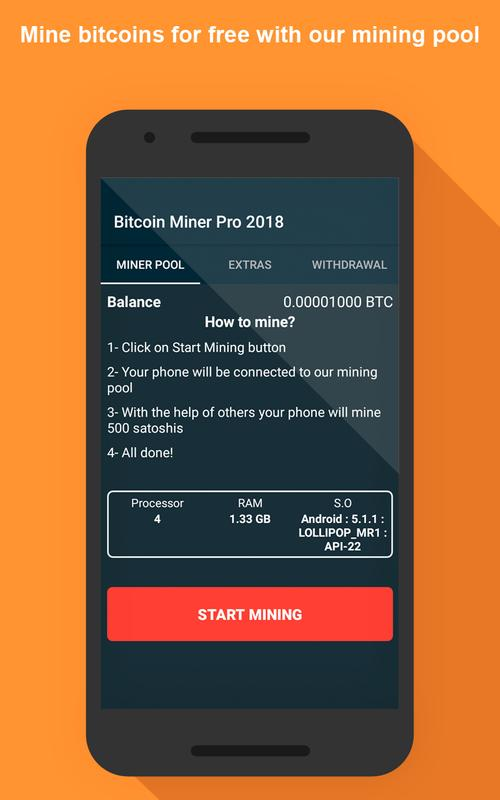 Bitcoin Miner Pro 2018 For Android Apk Download