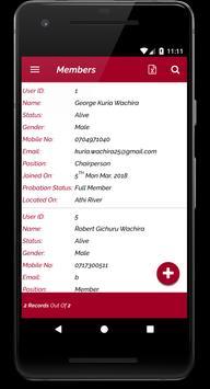 My Club Welfare Association screenshot 5