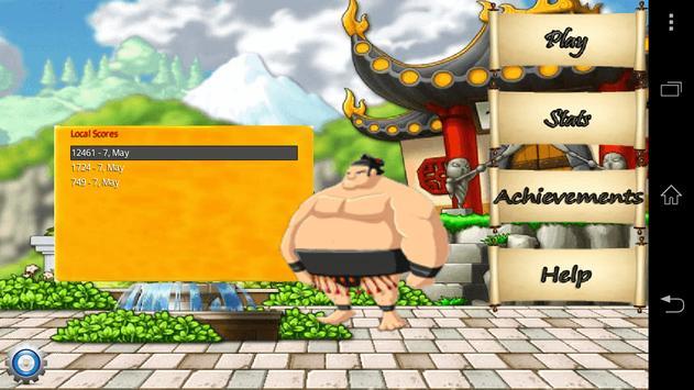 Angry Fat Ninja poster