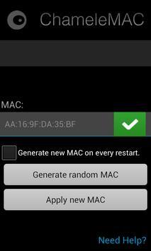 ChameleMAC – Change Wi-Fi MAC 1