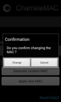 ChameleMAC – Change Wi-Fi MAC 4