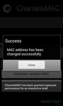 ChameleMAC – Change Wi-Fi MAC 5