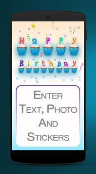 Birthday Card Maker - Bday e.Cards poster